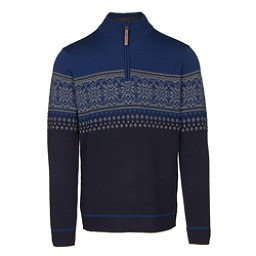 Obermeyer Bryce 1/4 Zip Mens Sweater, Storm Cloud, 256