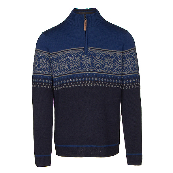 Obermeyer Bryce 1/4 Zip Mens Sweater, Storm Cloud, 600