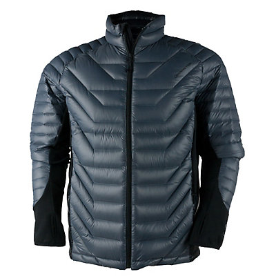 Obermeyer Kinetic Down Hybrid Mens Insulated Ski Jacket, Graphite, viewer