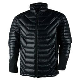 Obermeyer Kinetic Down Hybrid Mens Jacket, Black, 256