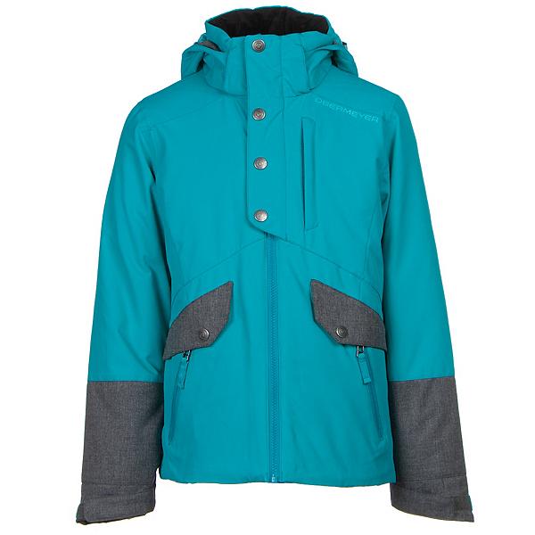 Obermeyer Kenzie Teen Girls Ski Jacket, Mermaid, 600