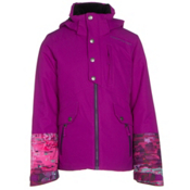 Obermeyer Kenzie Girls Ski Jacket, Violet Vibe, medium