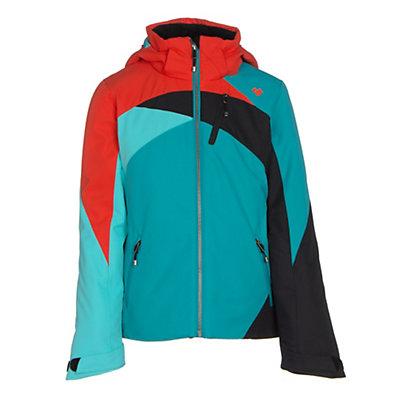Obermeyer Tabor Teen Girls Ski Jacket, Mermaid, viewer