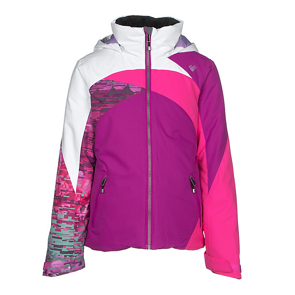 Obermeyer Tabor Teen Girls Ski Jacket, Violet Vibe, 600