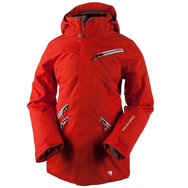 Obermeyer June Teen Girls Ski Jacket, Tiger's Eye, 600