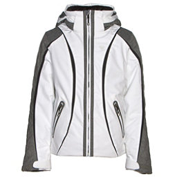 Obermeyer Dyna Teen Girls Ski Jacket, White, 256