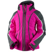 Obermeyer Dyna Girls Ski Jacket, Electric Pink, medium