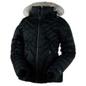 Obermeyer Aisha Girls Ski Jacket, Black, medium