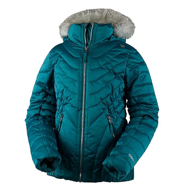 Obermeyer Aisha Teen Girls Ski Jacket, Rainforest, 600