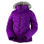 Obermeyer Aisha Girls Ski Jacket, Violet Vibe, medium