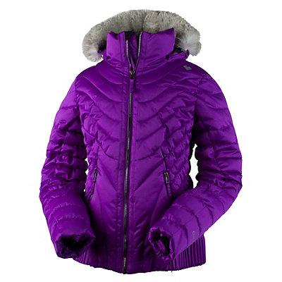Obermeyer Aisha Teen Girls Ski Jacket, Black, viewer