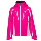 Obermeyer Grayson Girls Ski Jacket, Electric Pink, medium