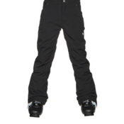 Obermeyer Jolie Softshell Teen Girls Ski Pants, Black, medium