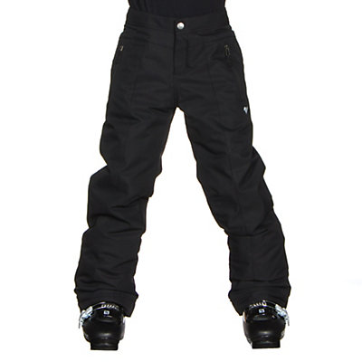 Obermeyer Elsie Teen Girls Ski Pants, Black, viewer
