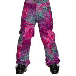 Obermeyer Elsie Teen Girls Ski Pants, Digi Floral, 256