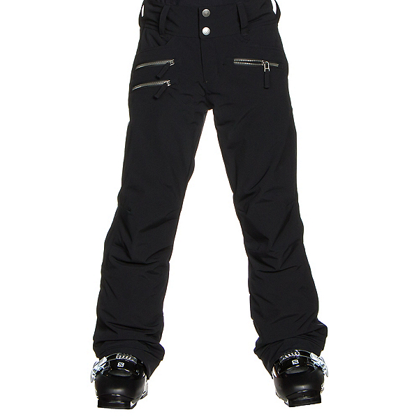 Obermeyer Jessi Teen Girls Ski Pants, Black, 600