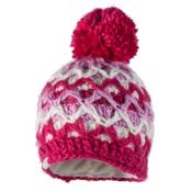 Obermeyer Averee Knit Teen Girls Hat, Sugar Berry, medium