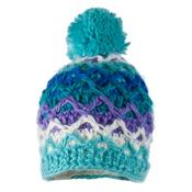 Obermeyer Averee Knit G Kids Hat, Mermaid, medium