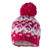 Obermeyer Averee Knit Toddler Girls Hat, Sugar Berry, medium