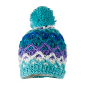 Obermeyer Averee Knit Toddler Girls Hat, Mermaid, medium