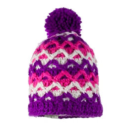 Obermeyer Averee Knit Toddler Girls Hat, Violet Vibe, 256