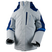 Obermeyer Fleet Boys Ski Jacket, Vapor, medium