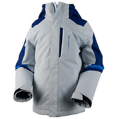 Obermeyer Fleet Boys Ski Jacket, Vapor, viewer