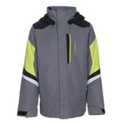 Obermeyer Fleet Boys Ski Jacket, Graphite, medium