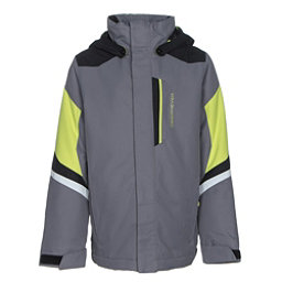Obermeyer Fleet Teen Boys Ski Jacket, Graphite, 256