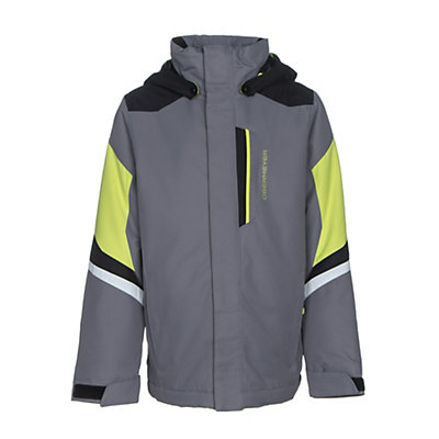 Obermeyer Fleet Teen Boys Ski Jacket, Vapor, viewer