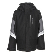 Obermeyer Fleet Boys Ski Jacket, Black, medium