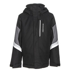 Obermeyer Fleet Teen Boys Ski Jacket, Black, 256