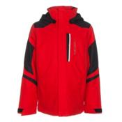 Obermeyer Fleet Teen Boys Ski Jacket, Red, medium