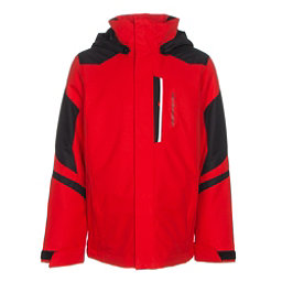 Obermeyer Fleet Teen Boys Ski Jacket, Red, 256