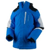 Obermeyer Fleet Teen Boys Ski Jacket, Stellar Blue, medium