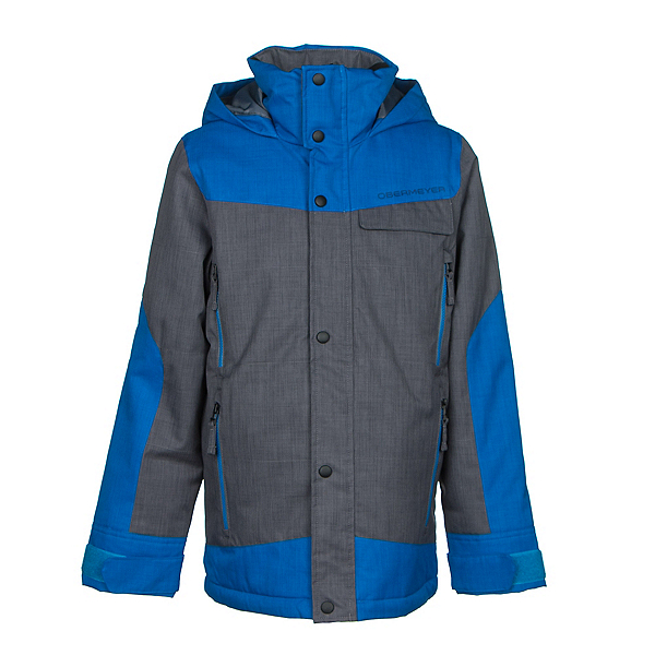 Obermeyer Gage Teen Boys Ski Jacket, Stellar Blue, 600
