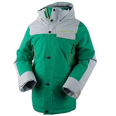 Obermeyer Gage Teen Boys Ski Jacket, Stellar Blue, viewer