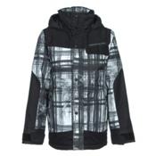 Obermeyer Gage Teen Boys Ski Jacket, Forrest For The Trees, medium