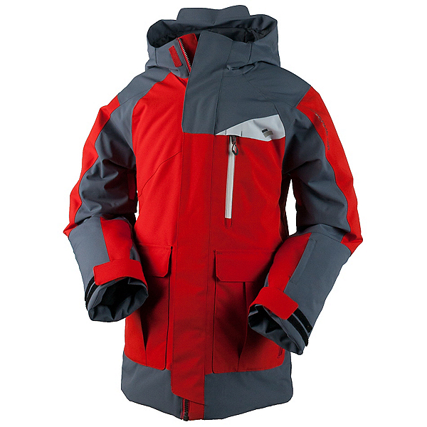 Obermeyer Axel Teen Boys Ski Jacket, Red, 600