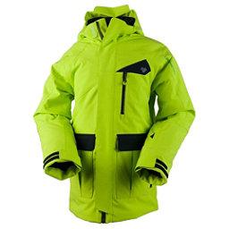 Obermeyer Axel Teen Boys Ski Jacket, Screamin Green, 256
