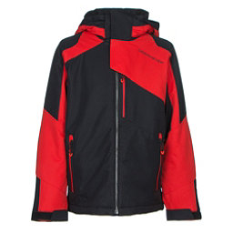Obermeyer Outland Teen Boys Ski Jacket, Red, 256