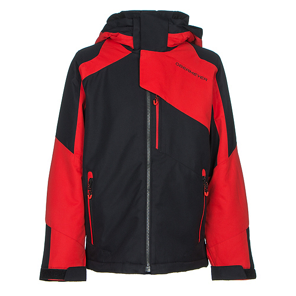 Obermeyer Outland Teen Boys Ski Jacket, Red, 600