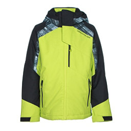 Obermeyer Outland Teen Boys Ski Jacket, Screamin Green, 256