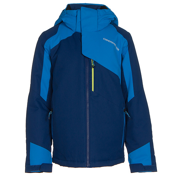 Obermeyer Outland Teen Boys Ski Jacket, Dusk, 600