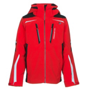 Obermeyer Ryker Boys Ski Jacket, Red, medium