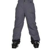 Obermeyer Brisk Teen Boys Ski Pants, Graphite, medium
