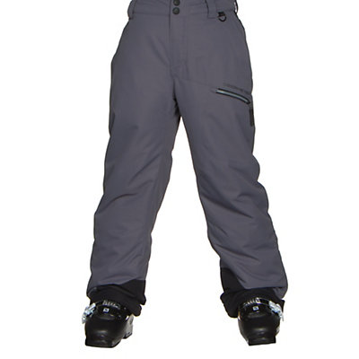 Obermeyer Brisk B Kids Ski Pants, Red, viewer