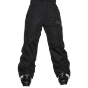 Obermeyer Brisk Teen Boys Ski Pants, Black, medium