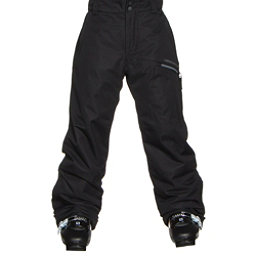 Obermeyer Brisk Teen Boys Ski Pants, Black, 256