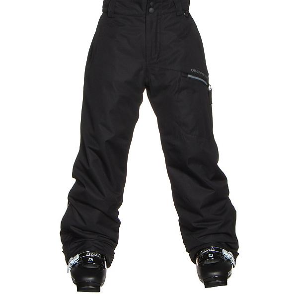 Obermeyer Brisk Teen Boys Ski Pants, Black, 600